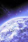 浩淼太空0101,浩淼太空,科技,蓝色气体 黑色宇宙 小星光