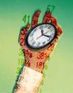 科技超想0033,科技超想,科技,钟表 时间 数字之手