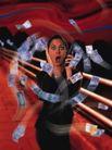 科技超想0045,科技超想,科技,接电话 路边 钞票