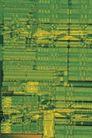 板卡芯片0172,板卡芯片,科技,模糊线路板 绿色元件 紧密排列