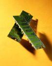 电子元件0051,电子元件,科技,内存条 存储器 空间