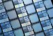 电子元件0074,电子元件,科技,密布 CPU 处理器