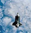 卫星科技0098,卫星科技,科技,航天飞机 发射 大气层