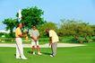 健康休闲0149,健康休闲,运动,小旗子 高尔夫爱好者