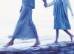 健康休闲0156,健康休闲,运动,牵手散步