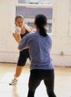 体育锻炼0150,体育锻炼,运动,女子拳击