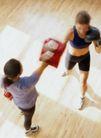 体育锻炼0152,体育锻炼,运动,拳击 女子拳击 手套