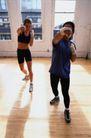 体育锻炼0156,体育锻炼,运动,木地板 挥拳
