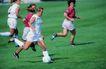 足球0180,足球,运动,女足球运动员 奔跑运球 回防