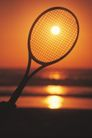 激情网球0072,激情网球,运动,夕阳 透过 球拍