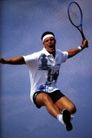 激情网球0078,激情网球,运动,跃起 激动 呐喊