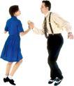 群体舞蹈0051,群体舞蹈,运动,舞伴 双人舞 舞姿