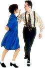 群体舞蹈0052,群体舞蹈,运动,身姿 娱乐 蓝色裙子