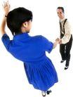 群体舞蹈0056,群体舞蹈,运动,欢笑 手表 短发