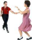 群体舞蹈0077,群体舞蹈,运动,轻盈 身姿 配合