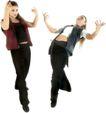 群体舞蹈0087,群体舞蹈,运动,夸张 人体 外形