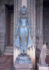 越南老挝柬埔寨0172,越南老挝柬埔寨,世界风光,铜像 莲花座 菩萨