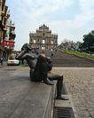 世界旅游0221,世界旅游,世界风光,青铜器雕像 广场