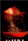 中国广告0092,中国广告,艺术,平底锅 鲫鱼 菜肴