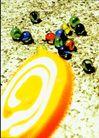 中国广告0093,中国广告,艺术,棒棒糖 弹球 玻璃