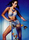 中国广告0101,中国广告,艺术,金鱼缸 三点式女郎 手摸缸体