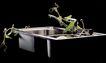 中国广告0120,中国广告,艺术,洗碗池 植物 水龙头