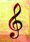 音乐遐想0008,音乐遐想,艺术,五线谱 起始符 音乐