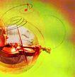 音乐遐想0024,音乐遐想,艺术,小提琴 乐声 优美