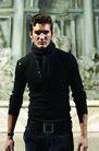米兰2004秋冬新品发布会0214,米兰2004秋冬新品发布会,服装设计,休闲装 黑色毛衣