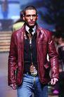米兰2004秋冬新品发布会0230,米兰2004秋冬新品发布会,服装设计,皮衣 牛仔裤