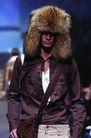 米兰2004秋冬新品发布会0237,米兰2004秋冬新品发布会,服装设计,时装 皮帽 夹克 背包