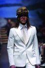 米兰2004秋冬新品发布会0241,米兰2004秋冬新品发布会,服装设计,白色 西服 风度翩翩