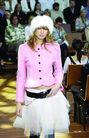 墨尔本时装008 2004秋冬新品发布会0141,墨尔本时装008 2004秋冬新品发布会,服装设计,粉色上衣 纱裙