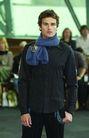 墨尔本时装008 2004秋冬新品发布会0159,墨尔本时装008 2004秋冬新品发布会,服装设计,蓝色围巾