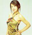 大陆明星时装0080,大陆明星时装,服装设计,黄色 炫目 皮肤