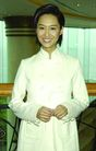 港台明星0123,港台明星,服装设计,白色装 露齿 短发 公共场所 露面