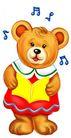 节庆动物0011,节庆动物,漫画卡通,音乐 旋律 唱歌
