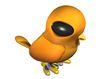 3D动物图案0050,3D动物图案,漫画卡通,小鸡
