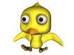 3D动物图案0110,3D动物图案,漫画卡通,大头 头顶小尖 大眼睛