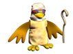 3D动物图案0125,3D动物图案,漫画卡通,拐杖 权杖 弯勾 鸭嘴 老头