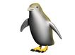 3D动物图案0133,3D动物图案,漫画卡通,南极 企鹅 生物 效果图 模具