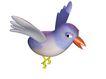 3D动物图案0138,3D动物图案,漫画卡通,尖嘴鸟