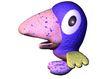 3D动物图案0141,3D动物图案,漫画卡通,大嘴巴