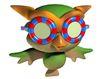 3D动物图案0151,3D动物图案,漫画卡通,猫头鹰