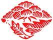 彩绘0106,彩绘,漫画卡通,菱形 竹叶 红树叶