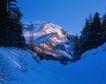 中华山水0237,中华山水,中国图片,雪地 山峰 树木 积雪