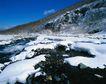 中华山水0239,中华山水,中国图片,积雪 河流 草地