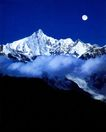 中国美景0062,中国美景,中国图片,美景 夜晚 月亮