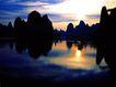 中国美景0066,中国美景,中国图片,桂林 风机 夕阳