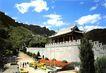 中华长城0032,中华长城,中国图片,长城入口处 游客 天空